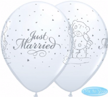 Tatty Teddy Just Married - 11 Inch Balloons 25pcs